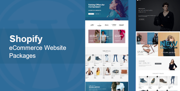Shopify E-Commerce Website Packages